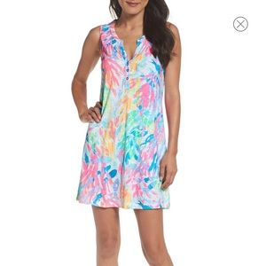 Essie lilly Pulitzer shift dress sparkling sands